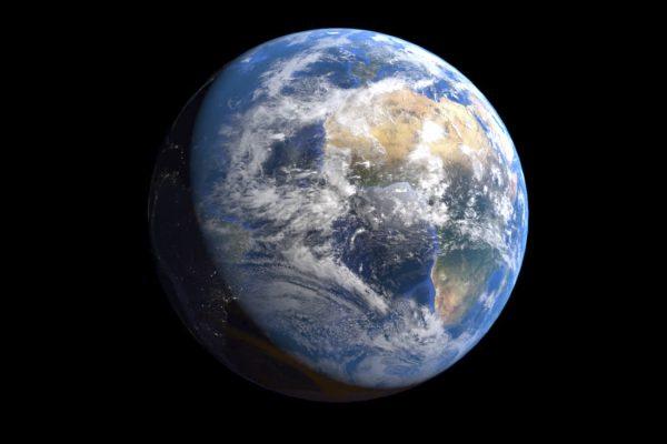 Terre - blender - planètes 3D