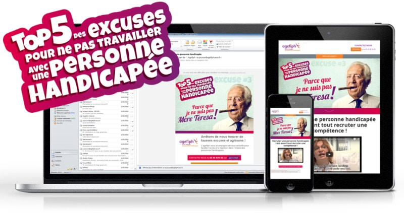 Agefiph, campagne e-mailing