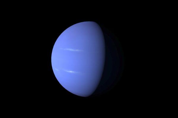 Neptune - blender - planètes 3D
