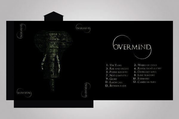 Overmind - Groupe de musique - CD Cartonné