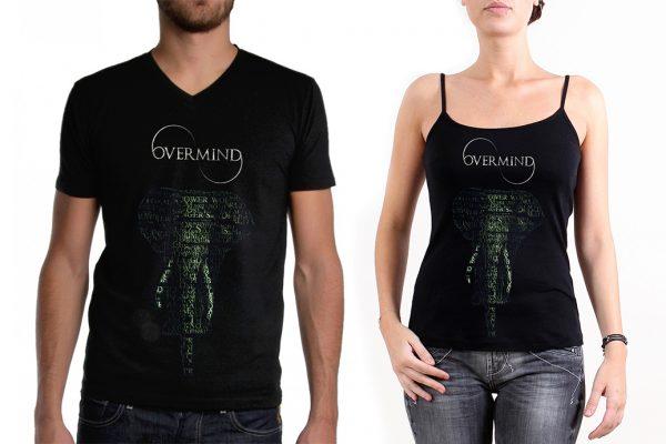 Overmind - Groupe de musique - tshirt